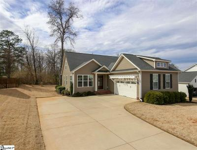 Greenville Single Family Home For Sale: 523 Summitbluff