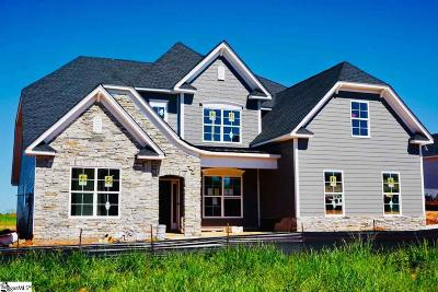 Simpsonville Single Family Home For Sale: 200 Lakeway Place #Homesite