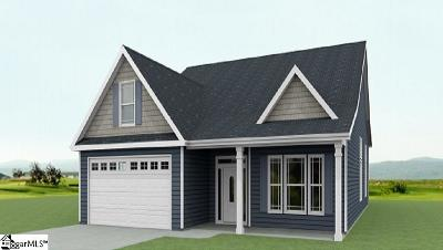 Simpsonville Single Family Home Contingency Contract: 104 Marshfield