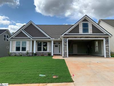 Greenville County Single Family Home Contingency Contract: 4 Marshfield