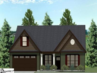 Simpsonville Single Family Home Contingency Contract: 310 Loxley