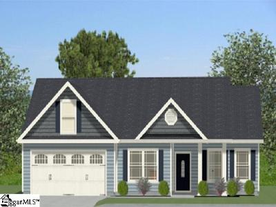Simpsonville Single Family Home Contingency Contract: 401 Grantleigh