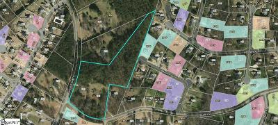 Easley Residential Lots & Land For Sale: 245 Mossie Smith