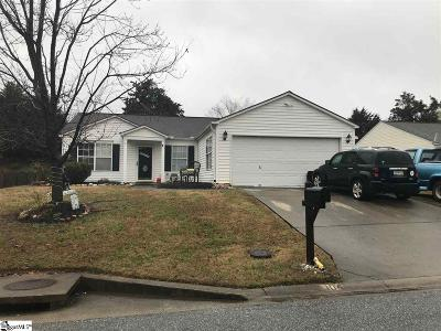 Simpsonville Single Family Home For Sale: 104 Granary