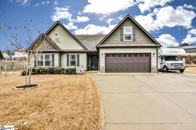 Fountain Inn Single Family Home Contingency Contract: 325 Catterick