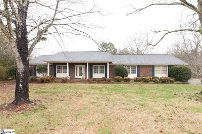 Easley Single Family Home For Sale: 1212 Cely