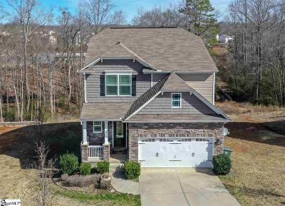 Simpsonville Single Family Home For Sale: 208 Blue Heron