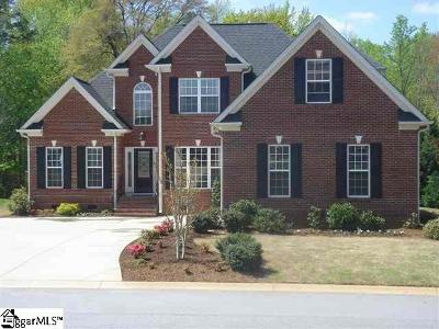 Simpsonville SC Single Family Home For Sale: $319,900