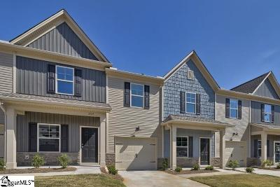 Mauldin Condo/Townhouse For Sale: 12 Double Branch