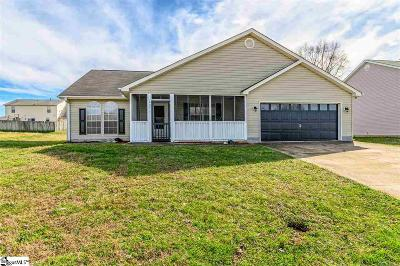 Fountain Inn Single Family Home Contingency Contract: 607 Sweet William