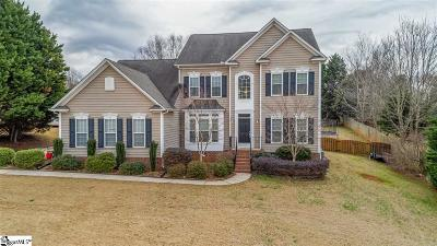 Easley Single Family Home For Sale: 121 Hornbuckle