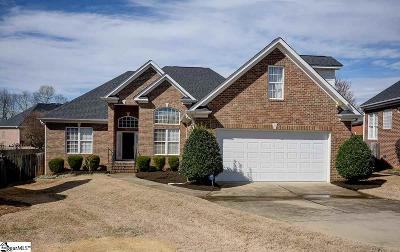 Greenville Single Family Home For Sale: 6 Hummers
