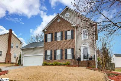 Greenville Single Family Home Contingency Contract: 203 Windsong