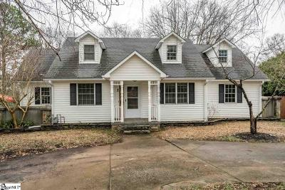 Taylors Single Family Home For Sale: 2 Robinson