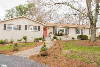 Greenville Single Family Home Contingency Contract: 2 Selwyn