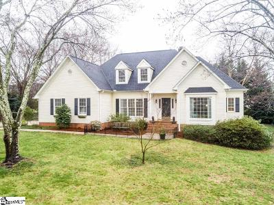 Simpsonville Single Family Home For Sale: 102 Maple Wind