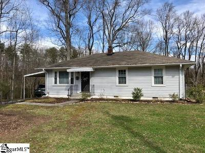 Greenville SC Single Family Home For Sale: $139,950