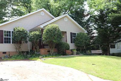 Greenville SC Single Family Home For Sale: $365,000
