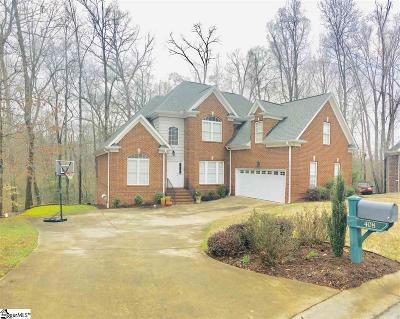 Simpsonville Single Family Home For Sale: 408 Abercorn
