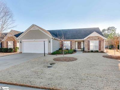 Greenville Single Family Home Contingency Contract: 43 Cantera