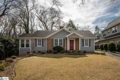 Greenville Single Family Home Contingency Contract: 16 McDaniel