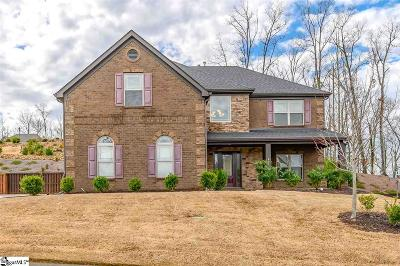 Simpsonville Single Family Home For Sale: 217 Dante