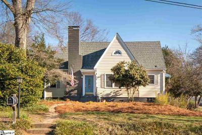 Greenville SC Single Family Home For Sale: $399,500
