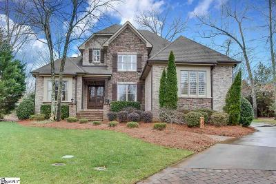 Simpsonville Single Family Home Contingency Contract: 6 Crown Gate