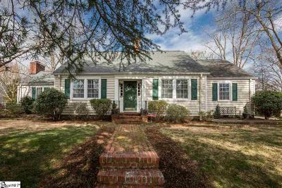 Greenville Single Family Home Contingency Contract: 309 Longview