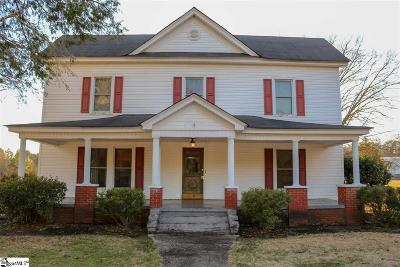 Easley Single Family Home For Sale: 919 Rice
