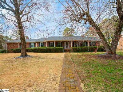 Spartanburg Single Family Home For Sale: 483 Webber