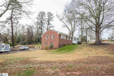 Greenville SC Single Family Home For Sale: $129,000