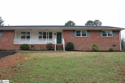 Anderson Single Family Home For Sale: 309 Dunhill