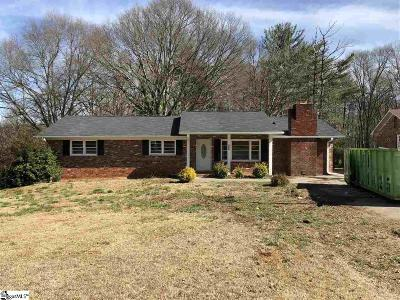 Spartanburg Single Family Home For Sale: 505 Arkwright