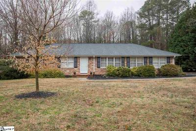 Spartanburg Single Family Home Contingency Contract: 115 Bain
