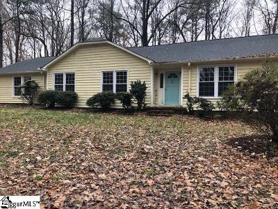 Greenville County Single Family Home For Sale: 502 Cannon