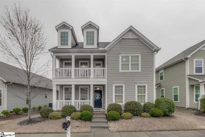 Simpsonville Single Family Home For Sale: 6 Caitlin