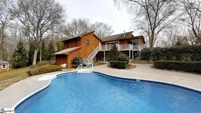 Inman Single Family Home For Sale: 151 Lake