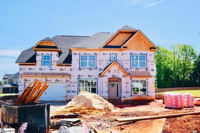 Boiling Springs Single Family Home For Sale: 407 Chippendale #Homesite