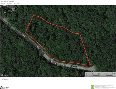 Travelers Rest Residential Lots & Land For Sale: 15 Alsace