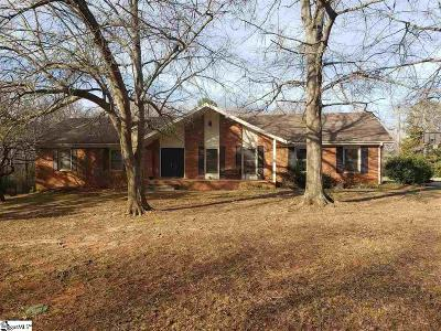 Easley Single Family Home Contingency Contract: 2605 Brushy Creek
