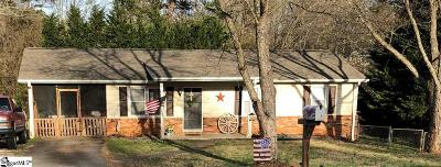 Easley Single Family Home Contingency Contract: 119 Edgewood
