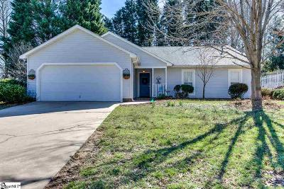 Greenville Single Family Home Contingency Contract: 106 Three Forks
