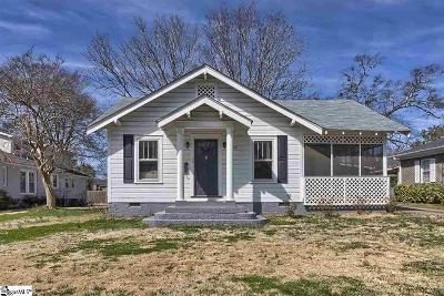 Augusta Road Single Family Home For Sale: 302 W Prentiss