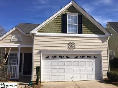 Boiling Springs Single Family Home For Sale: 752 Overton Ridge