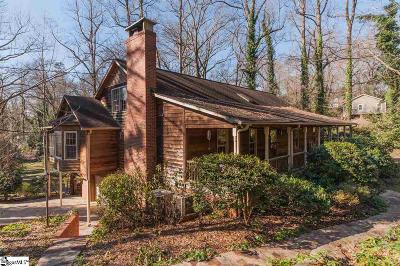 Greenville Single Family Home Contingency Contract: 733 Bennett