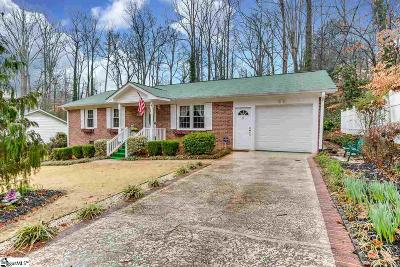 Greenville Single Family Home Contingency Contract: 15 Nottingham