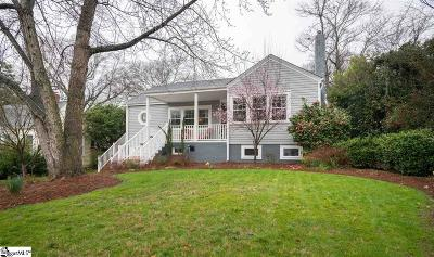 Greenville SC Single Family Home For Sale: $415,000
