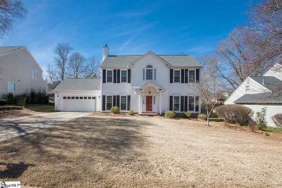 Greenville Single Family Home Contingency Contract: 113 Rosebank
