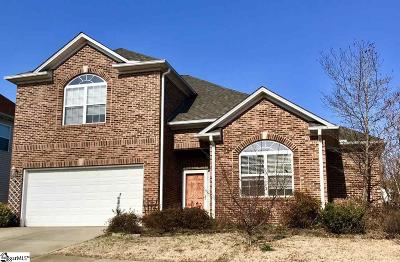 Taylors Single Family Home For Sale: 8 Roberts Hill